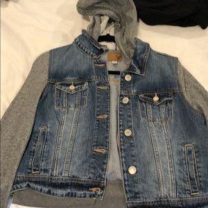 Denim/ sweatshirt jacket